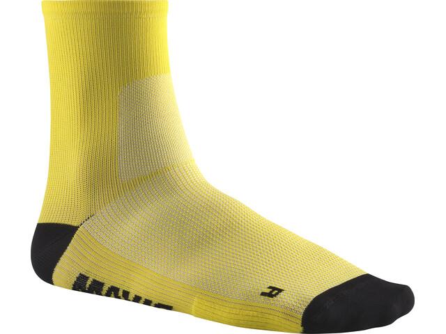 Mavic Essential Mid Socks yellow mavic